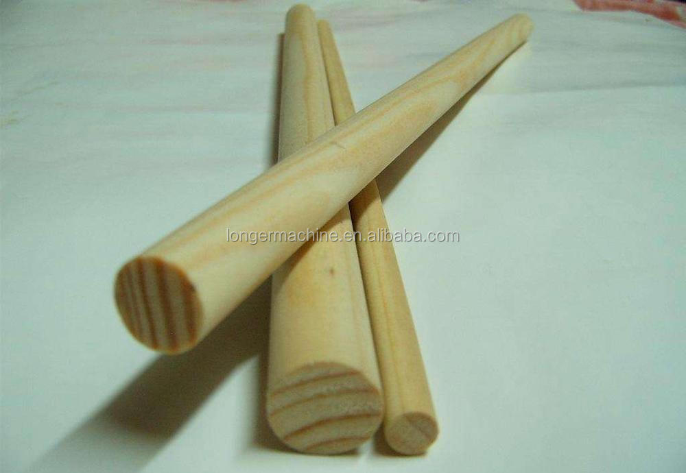 Round Wood Stick Making Machine for Mop rod
