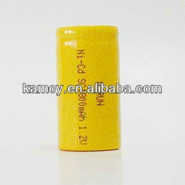 High quality of ni-cd battery,ni-cd sc1800mah 1.2v rechargeable battery