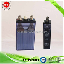 Sintered high rated discharge Ni-Cd accumulator 1.2V 100Ah KPX100 aircraft battery, marine battery