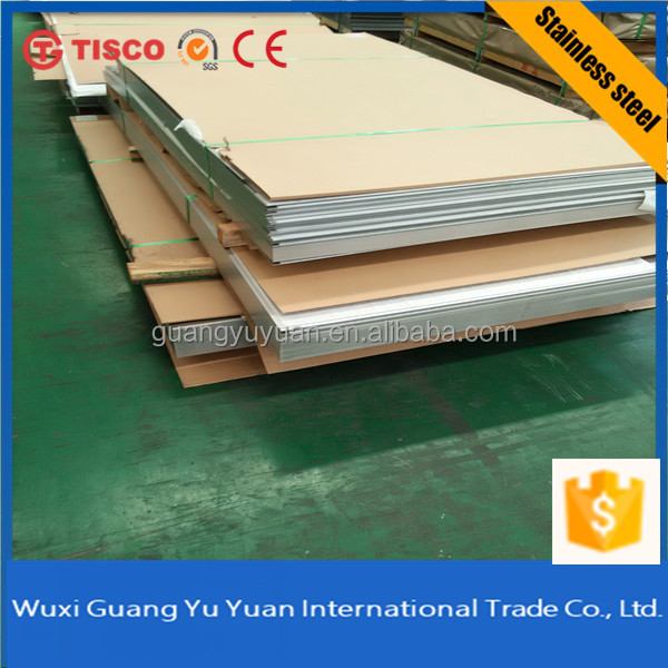 Tisco/Baosteel/Posco 316 Stainless Steel Sheet Price