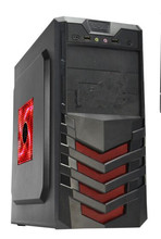 hot selling new designed p4 custom transparent side panel full tower ATX gaming case