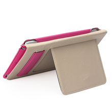 2015 new launched stand tablet cover for ipad mini 4 leather case