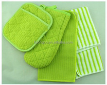 Microfiber kitchen cleaning cloth dishing cleaning &washing cloth set