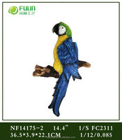 Home Decorative Polyresin Bird Stand