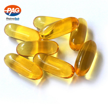 GMP certified omega 3 halal Fish oil softgel capsules in bulk