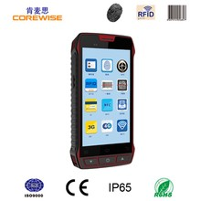 4G 5 inch quad core Android rugged smartphone with wifi,gps,bluetooth,barcode scanner,nfc/rfid reader