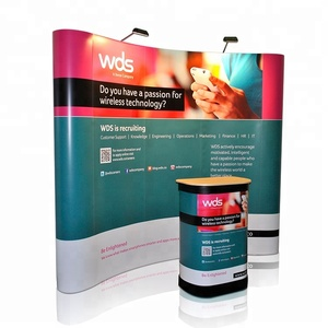 Free design Popular Trade show display,pop up display,pop up stand
