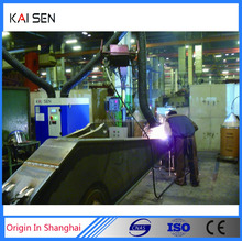 Automatically cleaning welding air dust collector