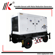 60HZ PORTABLE 120KW YUCHAI DIESEL GENERATOR USED DETROIT DIESEL ENGINES FOR SALE