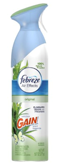 Febreze Air Effects Air Refresher, Gain Original Scent 9.70 oz