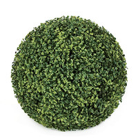 high quality low price fake bottle green ball home/garden/shopping hall indoor&outdoor decoration artificial green boxwood ball