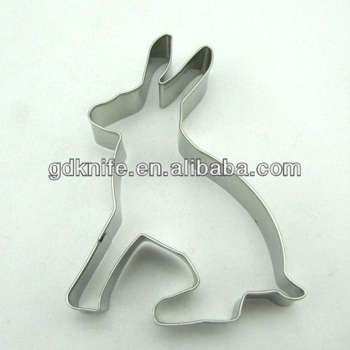 high quality stainless steel cookie cutter in deer shape