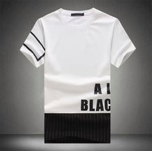 New arrival Latest china Manufacturers plain t shirt wide neck men with good quality