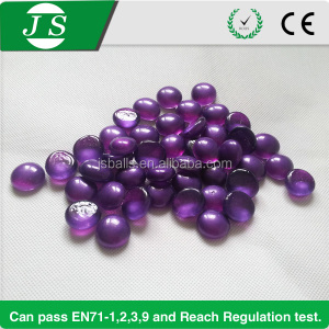 best price various color flat purple sea glass pebbles for vases
