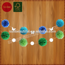 Paper Pompom as Special Promotion Gift for Decoration