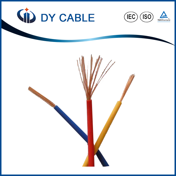 duplex electric dual core / solid core copper wire for house building