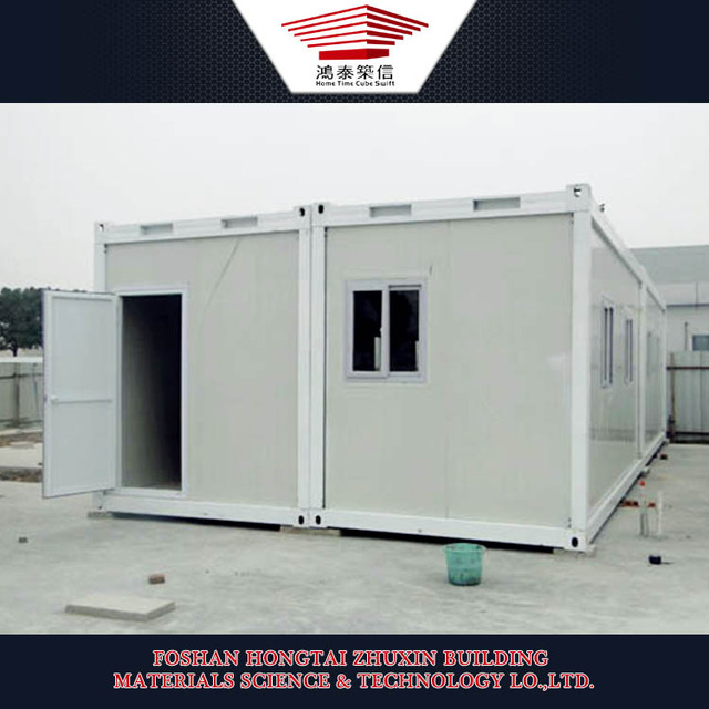 China Supplier Construction Site Accommodation Camp Container Homes for Sale