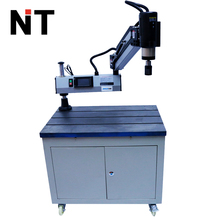 short arm rubber tapping machine with vertical handle transmate threading machine