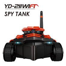 YD-211 mini spy tank rc wifi car with camera