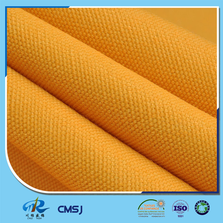 China supplier 80 polyester 20 cotton 72x40 canvas fabric in solids