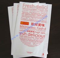 Waterproof, Greaseproof 60-100gsm paper bags for fast foods, french fries,roast foods, fried chickens etc.,FDA