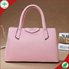 wholesale colorful 2015guangzhou female PU leather handbag/totebag/cheap shoulder bag
