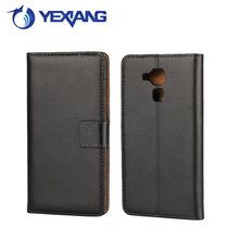 simple type purse flip cover for huawei honor 5c leather case
