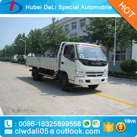 Foton 4x2 small Dump Truck dump truck loading capacity 2 ton for sale