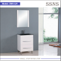 MDF bathroom wall cabinet white