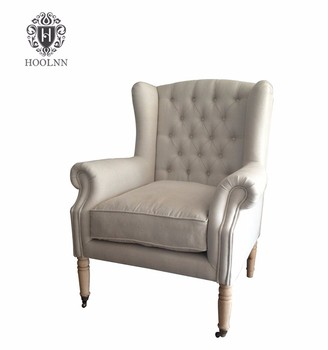 French Industrial Wing Chair Armchair Sofa HL199S