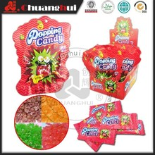 5 g sabor frutas Pop rocks Popping doces