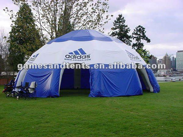 gaint inflatable dome tent with company logo F4003