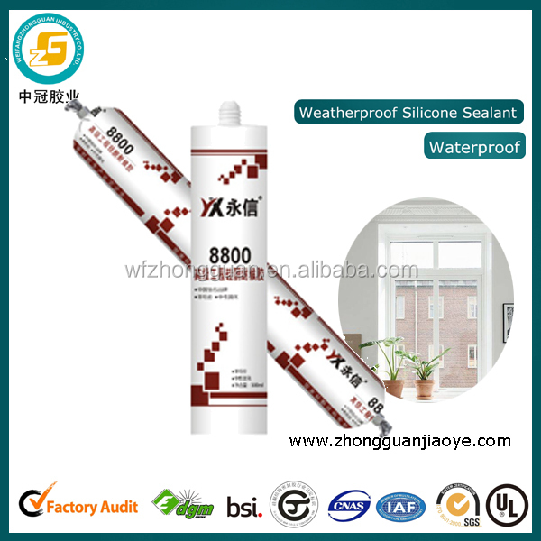 Neutral curing anti-aging construction silicone sealant