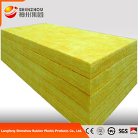 soundproof glass wool fabric acoustic panels GLASS WOOL insulation