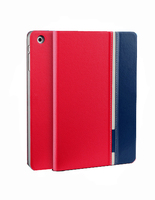2014 New design fashion kickstand wallet leather case mix color support cover for Blackberry 9100/9105/9360