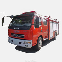 DFAC Right hand drive 4T water 2T foam fire fighting truck price