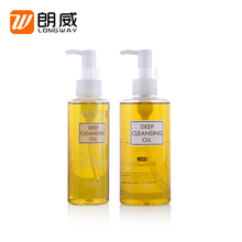 Spray pump silk screen handling cosmetic packaging use 120ml plastic bottle for personal skin care product