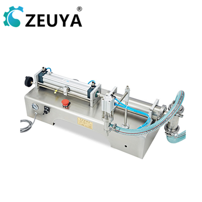 2019 new arrivial two filling <strong>nozzles</strong> 300-3000ml <strong>fruit</strong> can filling machine with ce