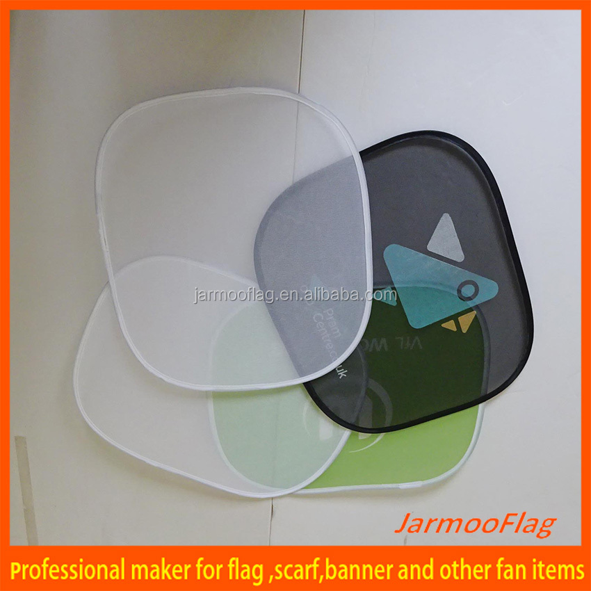 Foldable Custom Paper Car Sun Shade