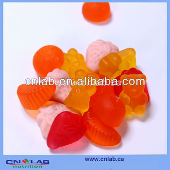 factory supply crab sweet candy gummy benefits