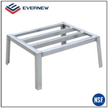 Professional food display shelving storage dunnage rack