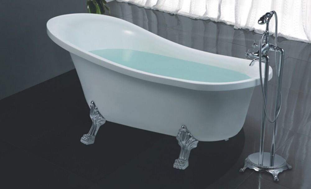 Hs-b518 Pearl Bathtub,Freestanding Slipper Tub,Claw Foot Baby Bath Tub -  Buy Claw Foot Baby Bath Tub,Freestanding Slipper Tub,Pearl Bathtub Product  on ...