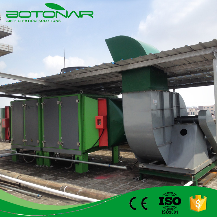 High Efficient Industrial Series Electrostatic Precipitator ESP for Hot Setting Machine