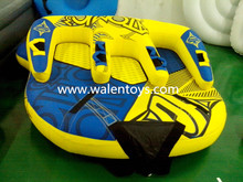 China supplier Round PVC Inflatable water towable tubes ski,inflatable towable ski tube approved EN71&ASTM