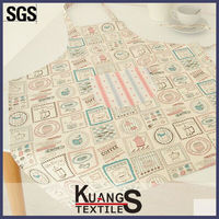 kids apron / pattern apron kitchen