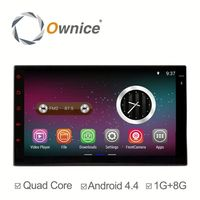 Factory price quad core Android 5.1 double din universal car head unit built in wifi BT RDS