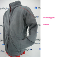 Man two face print sport winter jacket