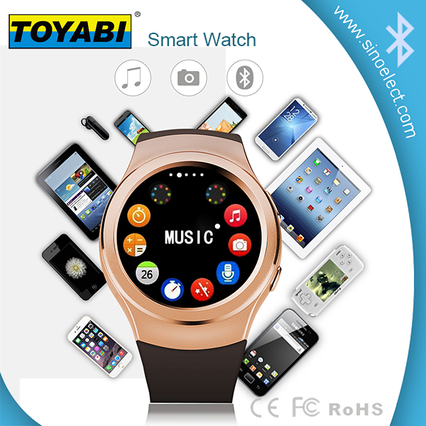 Smart lady watches with changeable strap and builded in basic mobile phone features