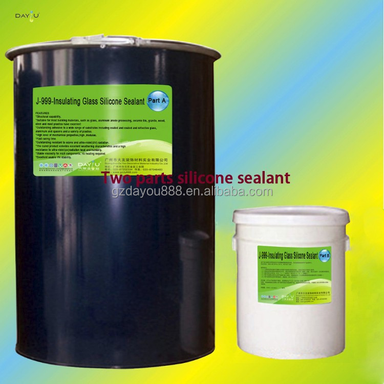 JY999 two component dum dum sealant bulk silicone sealant is construction adhesive special building use