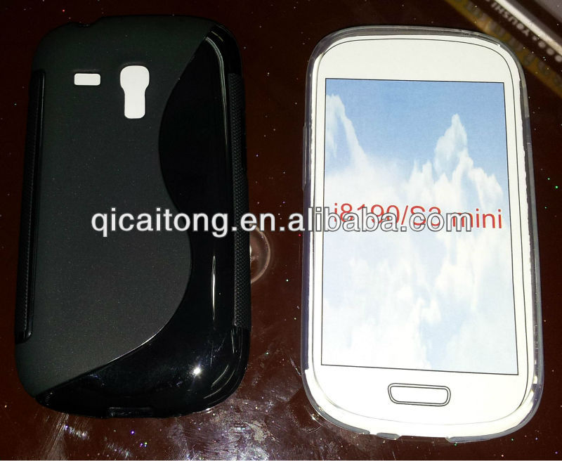 cellphone S-line TPU silicon gel cover for sumsung galaxy s3 mini I8190